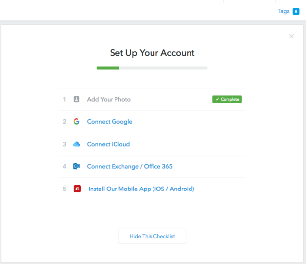 FullContact for Web 2.0 - Account Setup